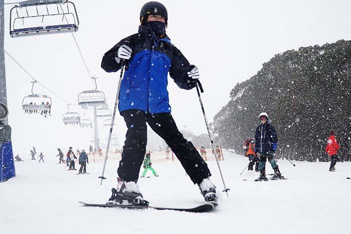 Mơ mình đang trượt tuyết - SV88